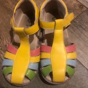 Matilda Jane Livi &Luca sandal. Girls size 2. GUC